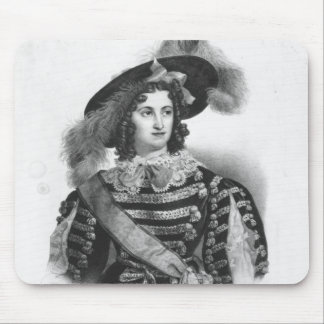 Mademoiselle George in the role of Queen Mouse Pad