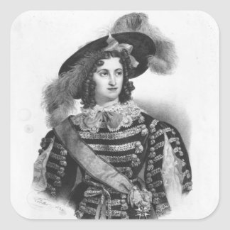 Mademoiselle George in the role of Queen Square Sticker