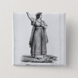 Mademoiselle George in the role Pinback Button