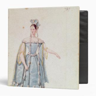 Mademoiselle Georges in 'Isabeau de Baviere' Binder
