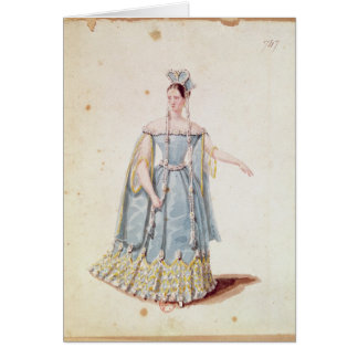 Mademoiselle Georges in 'Isabeau de Baviere' Card