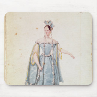 Mademoiselle Georges in 'Isabeau de Baviere' Mouse Pad