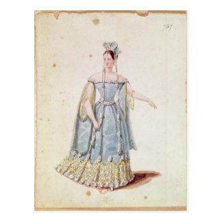 Mademoiselle Georges in 'Isabeau de Baviere' Postcard