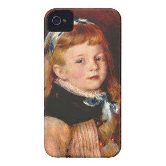 Mademoiselle Grimprel with blue hair-band - Renoir Blackberry Bold Case