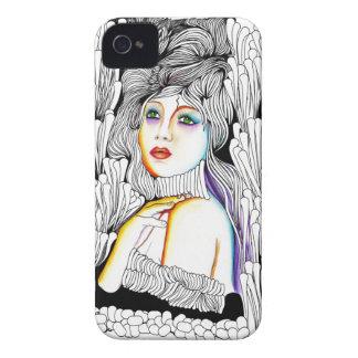 Mademoiselle la Comtesse iPhone 4 Case-Mate Case