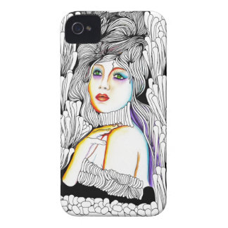 Mademoiselle la Comtesse iPhone 4 Covers