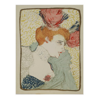 Mademoiselle Marcelle Lender by Toulouse Lautrec Poster