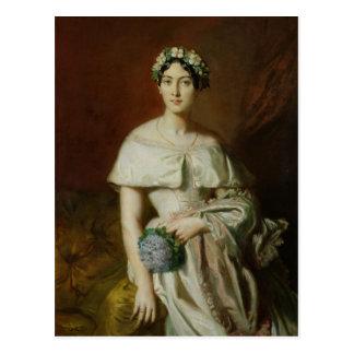 Mademoiselle Marie-Teresa de Cabarrus 1848 Tarjetas Postales