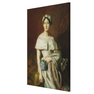 Mademoiselle Marie-Therese de Cabarrus, 1848 Canvas Print