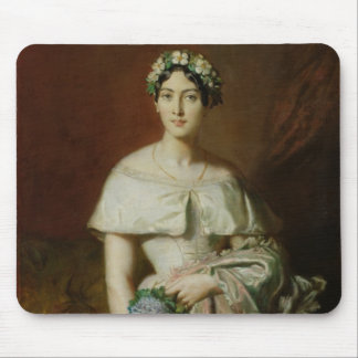 Mademoiselle Marie-Therese de Cabarrus, 1848 Mouse Pads