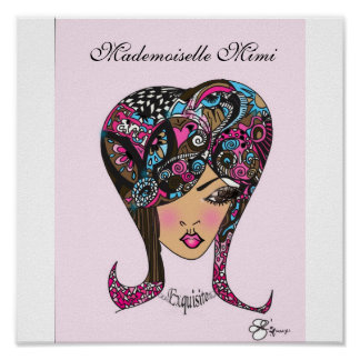 Mademoiselle Mimi Le Exquisite Prissy Poster
