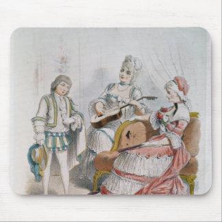 Mademoiselle Reichemberg as Cherubin Mouse Pad
