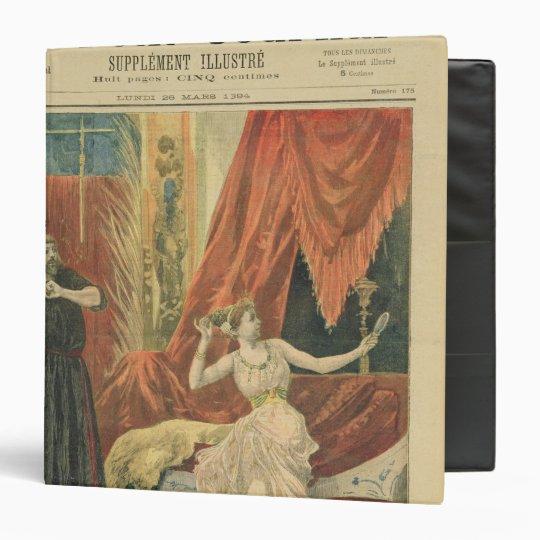 Mademoiselle Sibyl Sanderson  and Monsieur Jean 3 Ring Binder