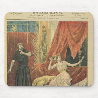 Mademoiselle Sibyl Sanderson  and Monsieur Jean Mouse Pad