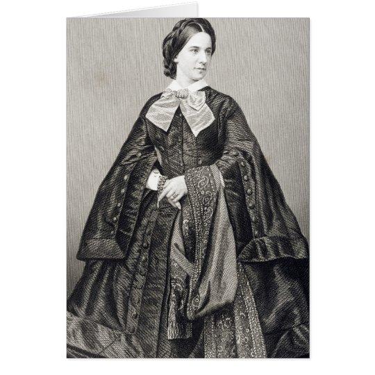 Mademoiselle Victoire Balfe Tarjeta De Felicitación