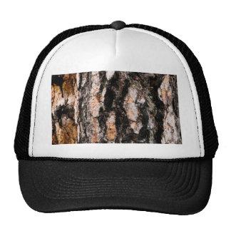 Madera abstracta gorra