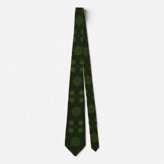 Madera abstracta verde del uniqueq corbatas personalizadas