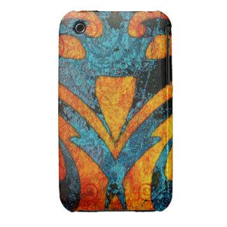 Madera abstracta y remolinos del Grunge Funda Bareyly There Para iPhone 3 De Case-Mate