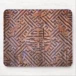 madera antigua china alfombrillas de ratones