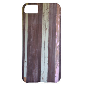 Madera apenada Palings del vintage Funda Para iPhone 5C