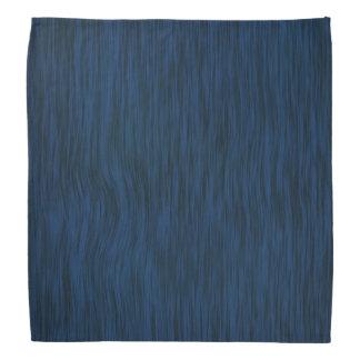 Madera áspera en pañuelo azul del final bandana