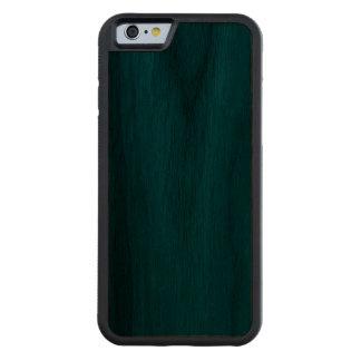 Madera azul de la nuez funda de iPhone 6 bumper nogal