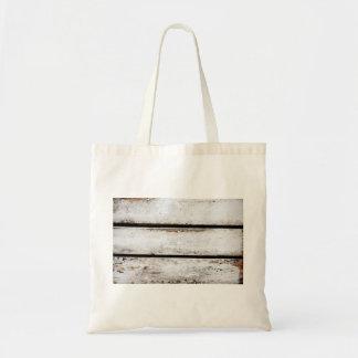 Madera blanca vieja bolsa tela barata