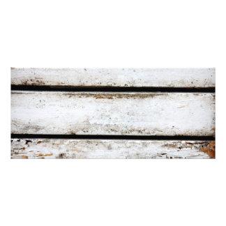 Madera blanca vieja lona personalizada
