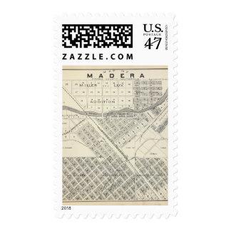 Madera County, California 3 Stamp