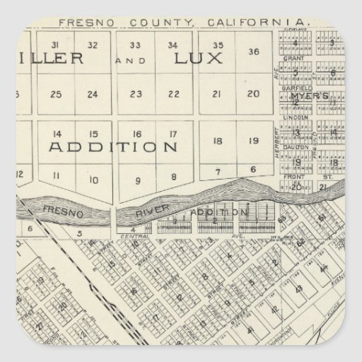 Madera County, California 3 Sticker
