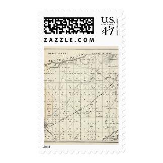 Madera County, California 5 Stamp