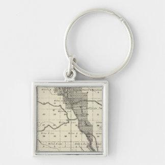 Madera County, California 6 Keychain
