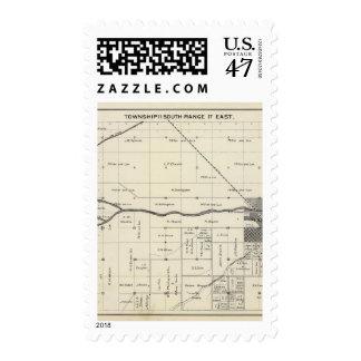 Madera County, California 9 Stamp