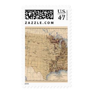 Madera de construcción de 196 valores, milla de sellos postales