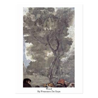 Madera de Francisco De Goya Tarjetas Postales