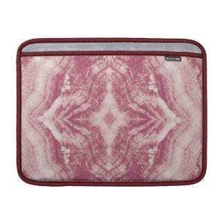 Madera de Grayson texturizada en rosa Funda Macbook Air