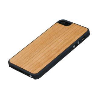 Madera de la cereza funda de cerezo carved® para iPhone 5 slim