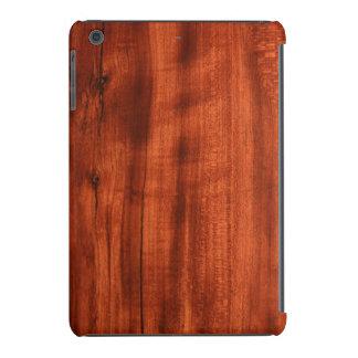 Madera de la cereza funda de iPad mini