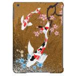 Madera de la charca de Koi: caja del aire del iPad Funda Para iPad Air