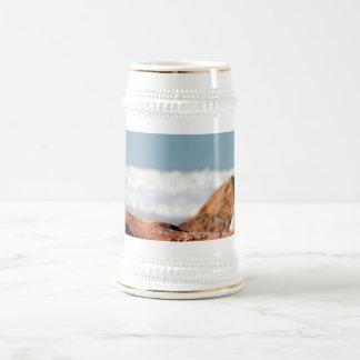 Madera de la deriva tazas de café