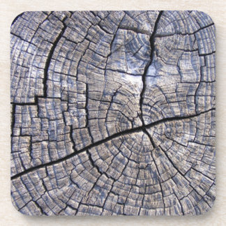 Madera de madera posavasos