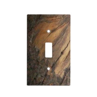 Madera de pino de Pinyon Placas Para Interruptor