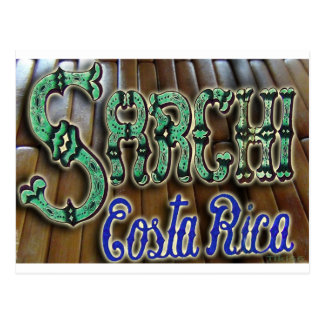 Madera de Sarchi Costa Rica Postales