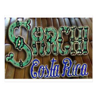 Madera de Sarchi Costa Rica Tarjetas Postales