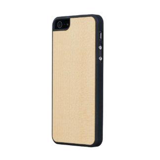 Madera del arce funda de arce carved® para iPhone 5