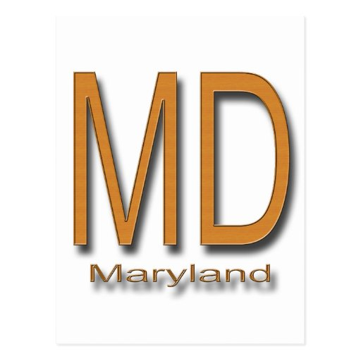 Madera del MD Maryland Postal