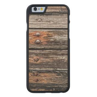 Madera del vintage funda de iPhone 6 carved® slim de arce