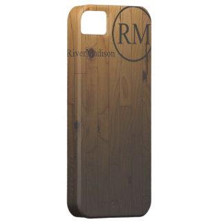 Madera dura del RM iPhone 5 Carcasa