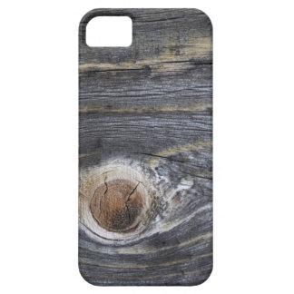 Madera envejecida iPhone 5 carcasa