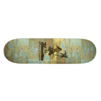 Madera hawaiana de la cabaña de la resaca falsa tabla de patinar
